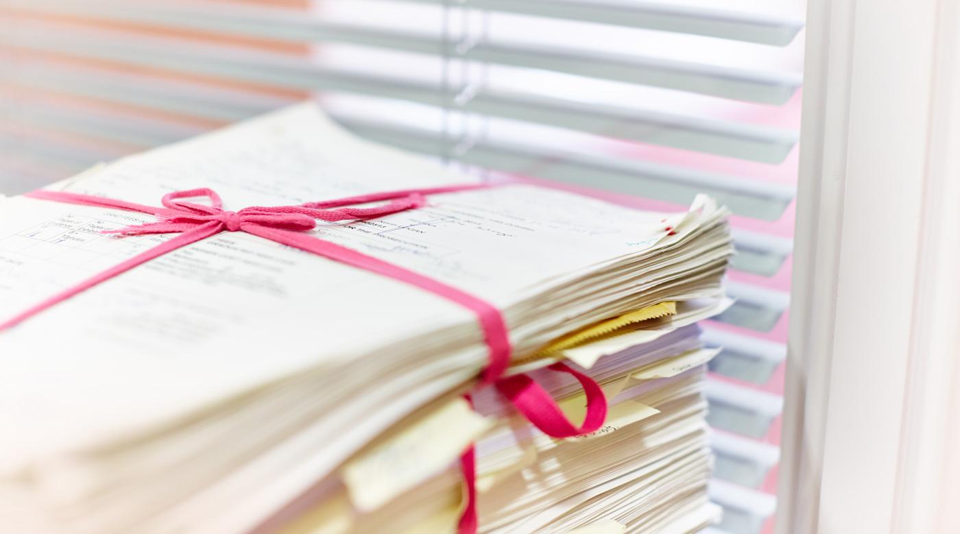 Barrister legal paperwork fraud trial