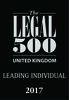 The Legal 500 2017 leading individual logo
