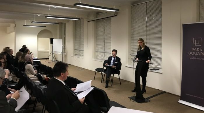 Over 80 delegates attend Family Law Seminar delivered by Nick Stonor QC and Charlotte Worsley image