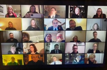 131 people attend virtual PSQB Family Team seminar image