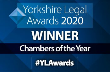 "PSQB win ""Chambers of the Year"" at the 2020 Yorkshire Legal Awards image"