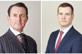 Mark McKone and Craig Hassall take silk image