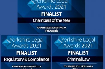 PSQB Finalists in three categories at the 2021 Yorkshire Legal Awards image